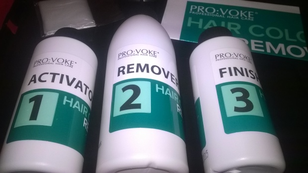 PROVOKE HAIR COLOUR REMOVER