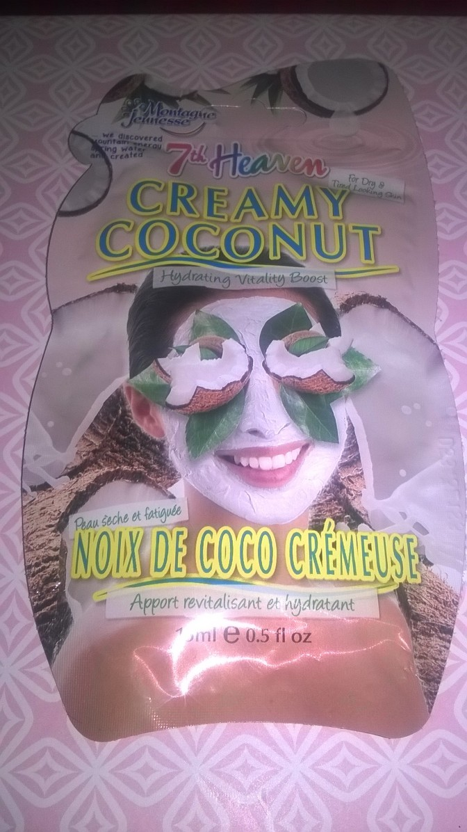 Sunday Pamper Sesh: Creamy Coconut Face Mask – 7th Heaven (Review)