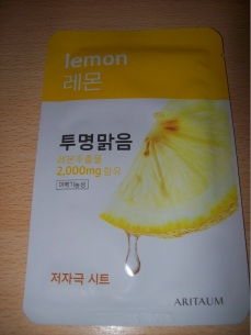 Aritaum - Fresh Essential Sheet Mask Lemon