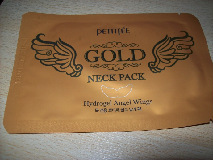 Petitfee - Gold Neck Pack 'Hydrogel Angel Wings'