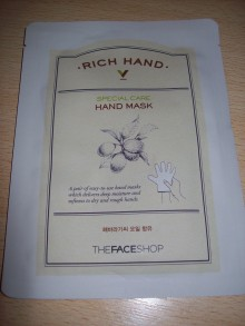 The Face Shop - Rich Hand Special Care Hand Mask