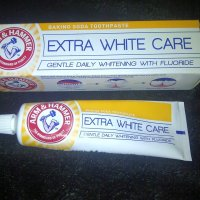 Arm & Hammer | Extra White Care | Gentle Daily Whitening With Fluoride | Toothpaste With Baking Soda | Review