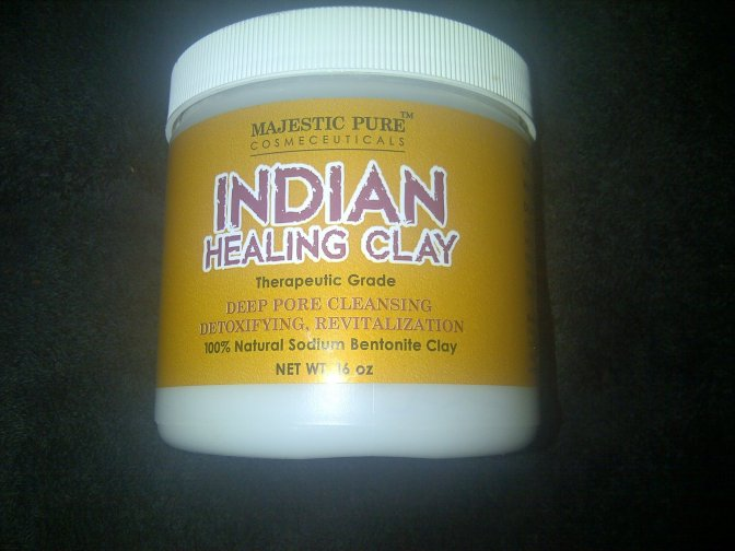 Indian Healing Clay (Powder) from Majestic Pure