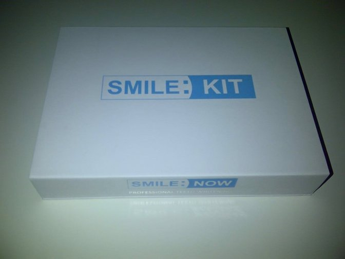 Smile Kit – DIY Teeth Whitening Kit From Smile:Now