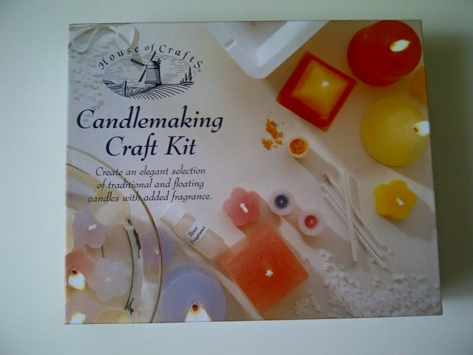Candlemaking Craft Kit – House Of Crafts – Review