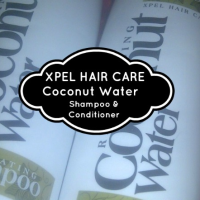 Beauty On A Budget | Poundland Bargain | Revitalising Coconut Water Shampoo & Conditioner from Xpel Hair Care - Review