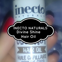 REVIEW: Divine Shine Coconut Hair Oil - Inecto Naturals
