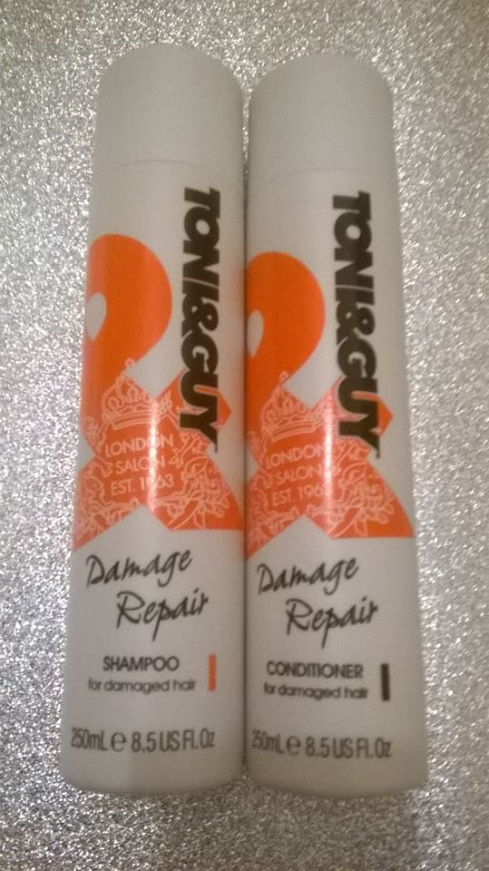 Review: Toni & Guy – Damage Repair Shampoo & Conditioner