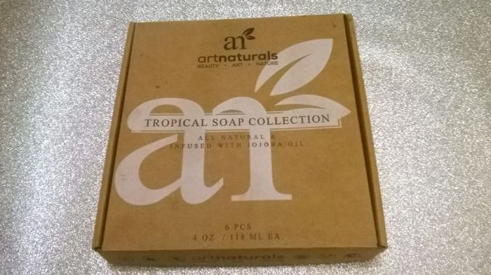 ART NATURALS TROPICAL SOAP COLLECTION REVIEW