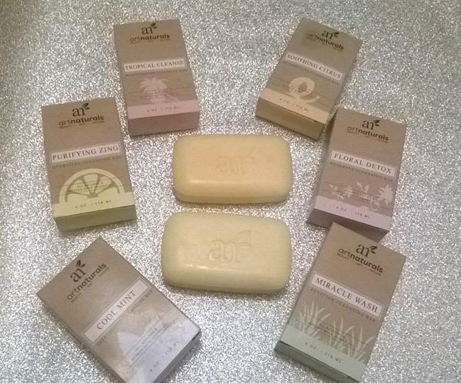 ART NATURALS TROPICAL SOAP SET 2