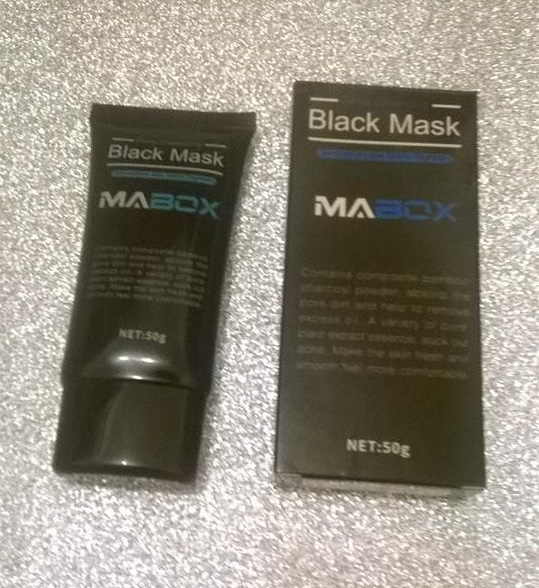Review: MABOX – Deep Cleansing Black Mask
