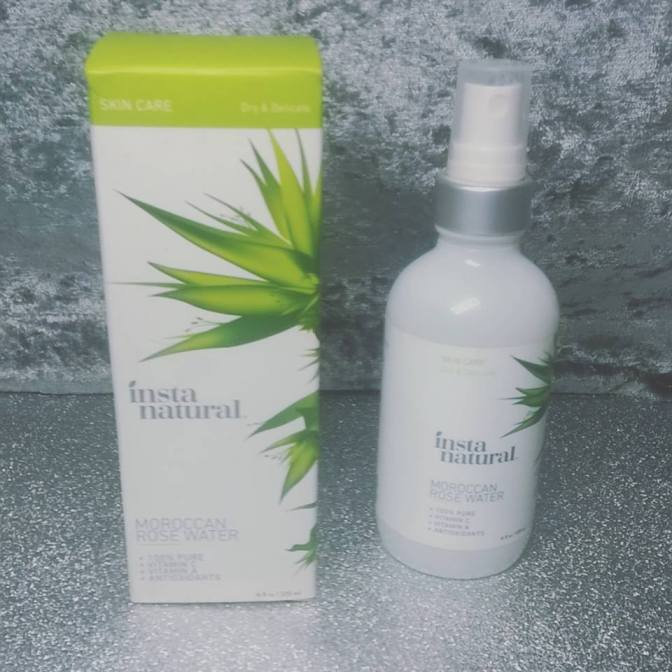 Review: Moroccan Rose Water Facial Mist Spray – InstaNatural