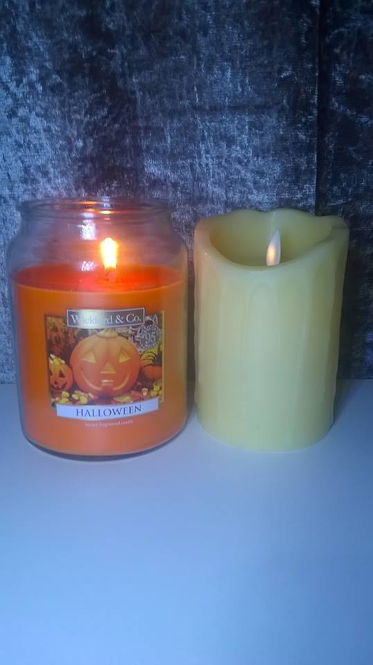Budget Yankee Candle Dupe: Wickford & Co – Halloween Candle From Home Bargains (£2.99)