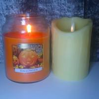 Budget Yankee Candle Dupe: Wickford & Co - Halloween Candle From Home Bargains (£2.99)