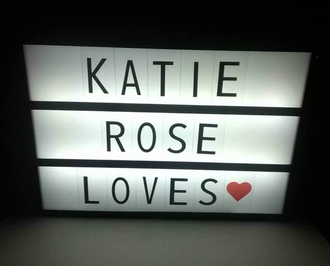 Cinema Light Box Only £5.99 At Home Bargains