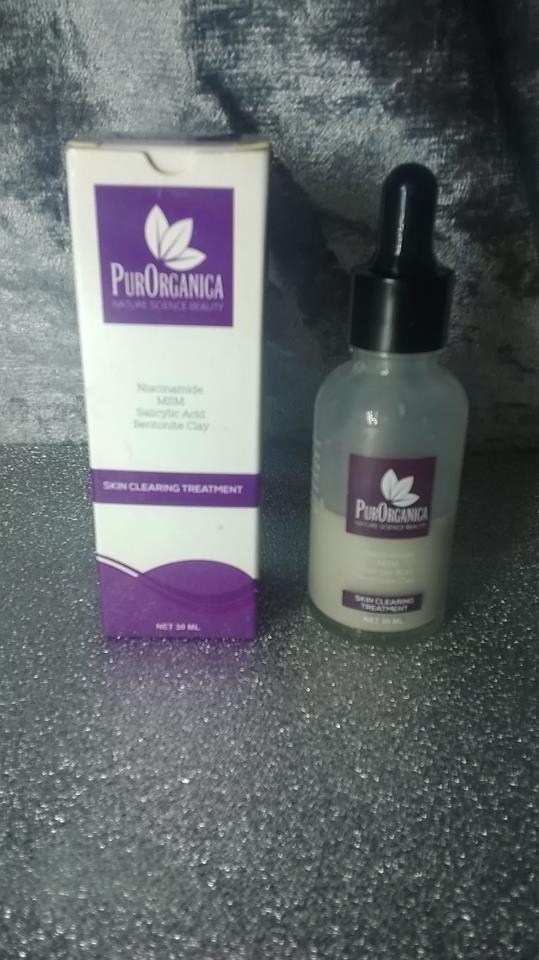 Review: PurOrganica – Skin Clearing Treatment For Spots, Pimples, Blemishes & Acne