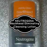 Review: Visibly Clear Blackhead Eliminating Cleansing Lotion - Neutrogena