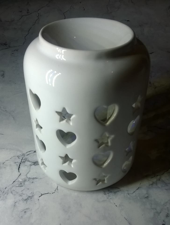 B&M BEAUTIFUL HOME FROZEN BERRIES OIL BURNER SET 3