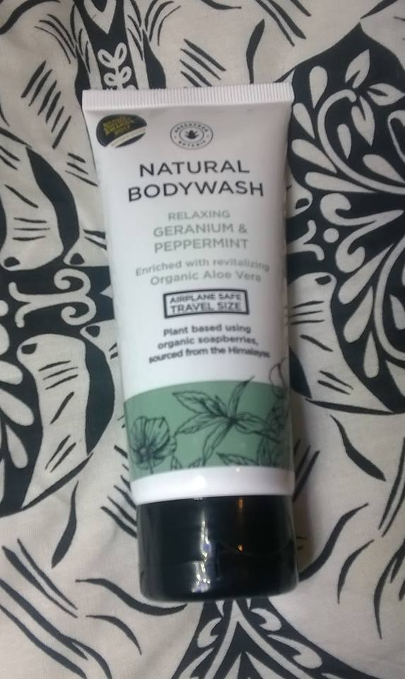 GREENFROG BOTANIC GERANIUM & PEPPERMINT NATURAL BODY WASH