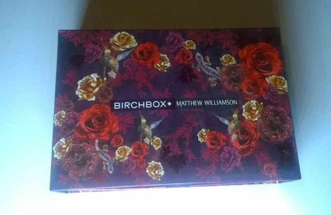 Birchbox: Christmas/December 2017 – Matthew Williamson – Plus Sneak Peek For The January 2018 Box