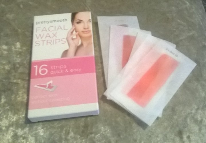 PRETTY BY QUEST SMOOTH FACIAL WAX STRIPS 3