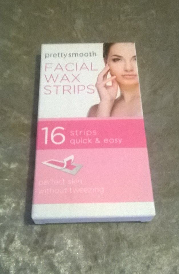 PRETTY BY QUEST SMOOTH FACIAL WAX STRIPS