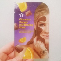 Superdrug: Chocolate Orange Self-Heating Face Mask (Review)