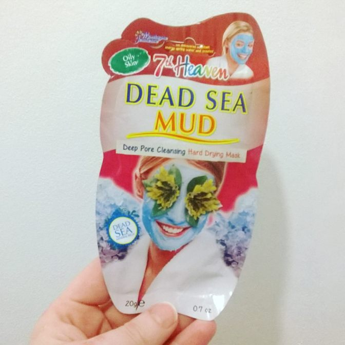 7h Heaven – Dead Sea Mud Mask – Hard Drying & Deep Pore Cleansing (Review)