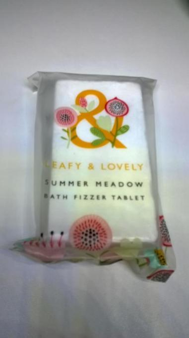 LEAFY & LOVELY - Summer Meadow Bath Fizzer Tablet From Superdrug REVIEW