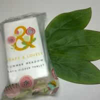 Review: Leafy & Lovely - Summer Meadow Bath Fizzer Tablet (20p @ Superdrug)