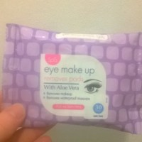 Review: Spa - Eye Make-Up Remover Pads With Aloe Vera (Home Bargains)