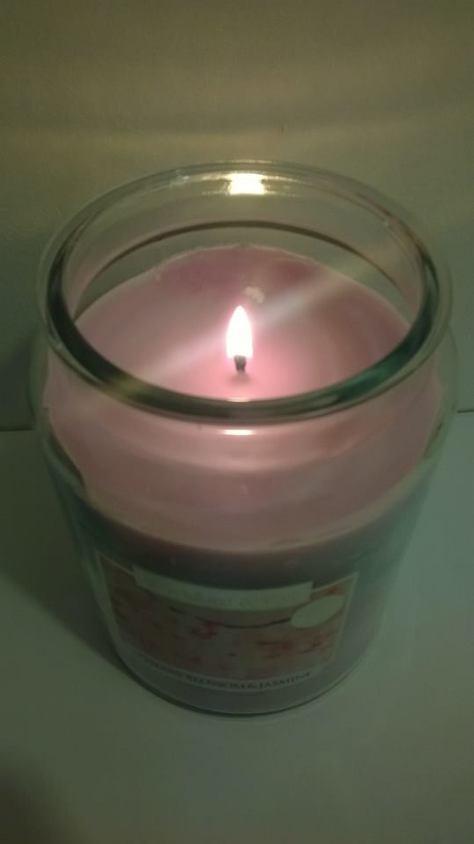 WICKFORD & CO CANDLES HOME BARGAINS CHERRY BLOSSOM & JASMINE 2