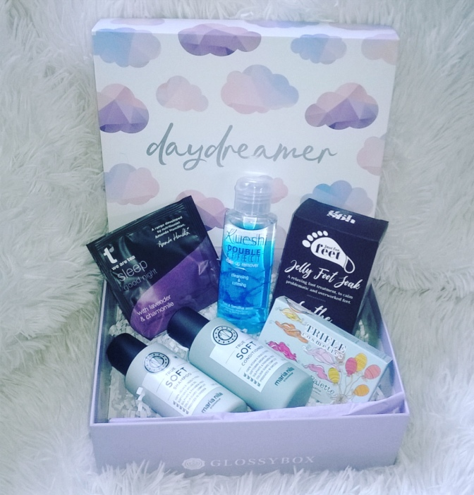 GLOSSYBOX UK: Daydreamer Box – May 2018