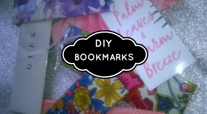 DIY  CRAFT PROJECTS: How To Make Your Own Super Easy Bookmarks