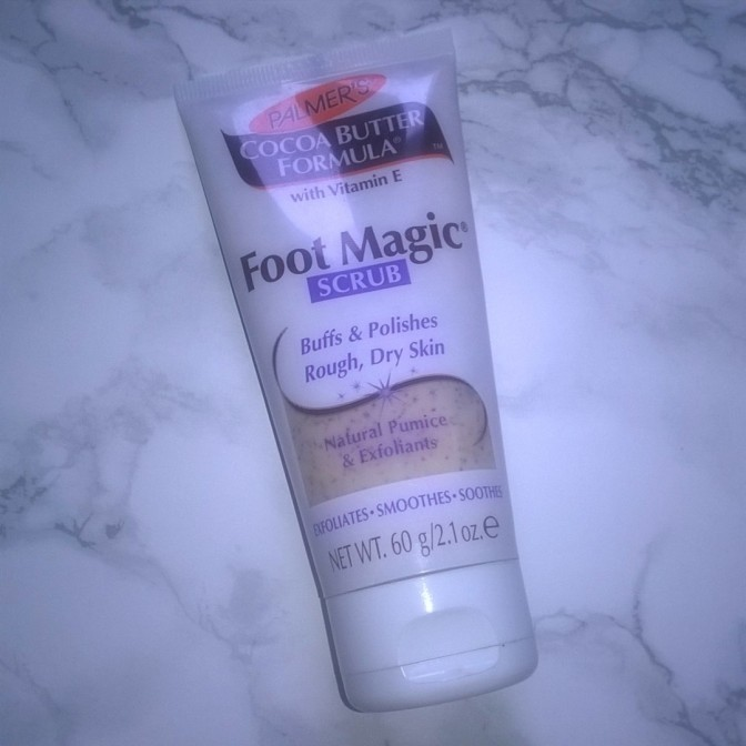 REVIEW: Palmer's – Cocoa Butter Formula – Foot Magic Scrub