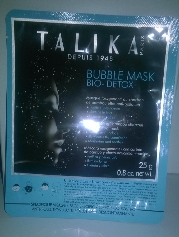 talika bubble mask