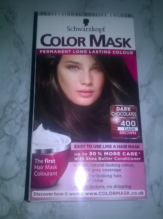 COLOR MASK SCHWARZKOPF DARK BROWN 400 HAIR DYE