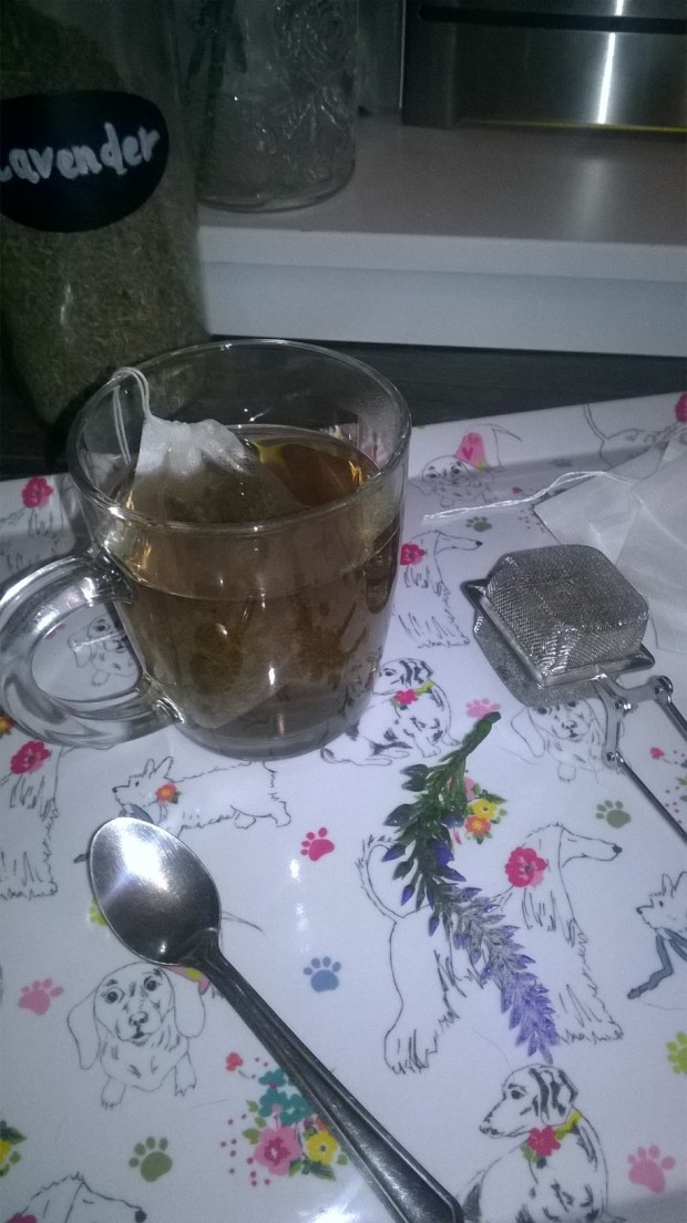 lavender tea dried lavender buds