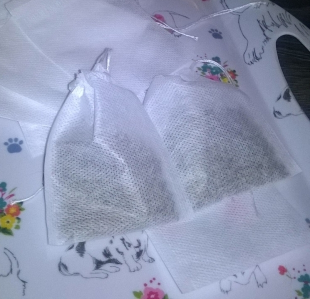 homemade teabags