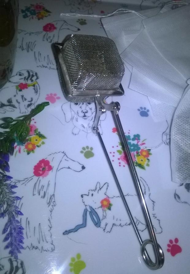 lavender tea loose tea strainer infuser