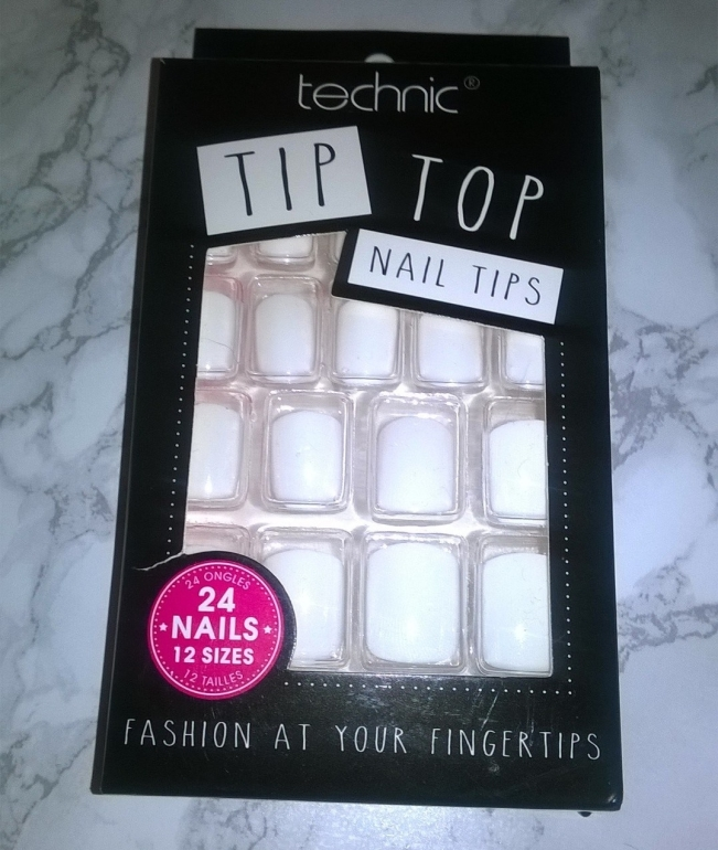 Technic Tip Top Nail Tips False Nails Review